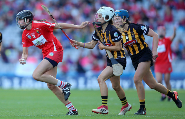 Davina Tobin with Orla Cotter