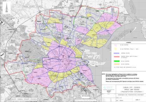 30kmh zones yellow