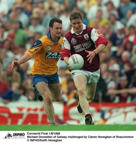 Michael Donnellan and Ciaran Heneghan 1/8/1998