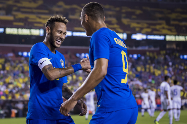 Soccer 2018: Brazil vs El Salvador SEP 11