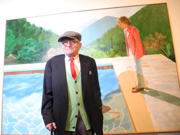 David Hockney exhibition in New York