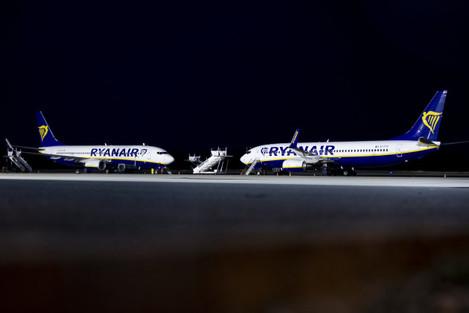 Strike of German Ryanair employees