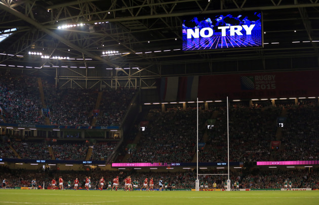 Rugby Union - Rugby World Cup 2015 - Pool D - Ireland v Canada - Millennium Stadium