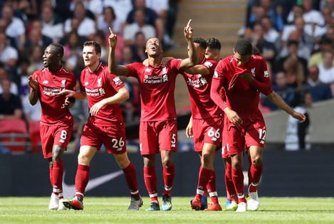 Tottenham Hotspur v Liverpool - Premier League - Wembley Stadium