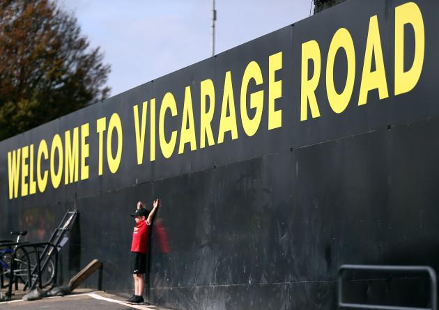 Watford v Manchester United - Premier League - Vicarage Road
