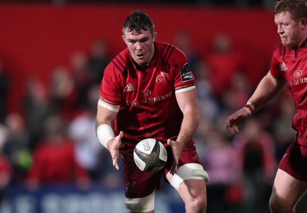 Munster's Peter O'Mahony