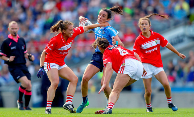 Niamh McEvoy with Aisling Hutchings and Shauna Kelly
