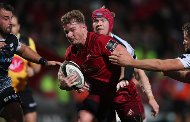 Munster's Chris Cloete