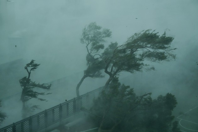 CHINA-HONG KONG-MANGKHUT-TOP TYPHOON WARNING(CN)