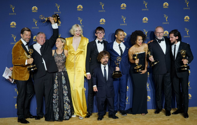 U.S.-LOS ANGELES-PRIMETIME EMMY AWARDS