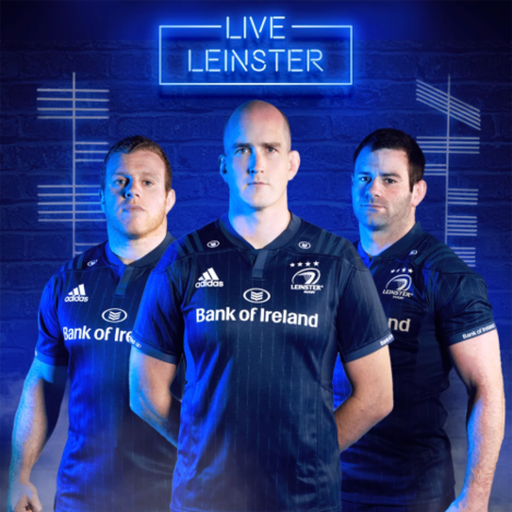 Leinster Rugby ERCC Jersey 2018-2019