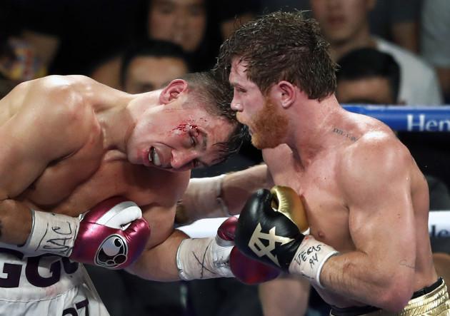 Golovkin Alvarez Boxing