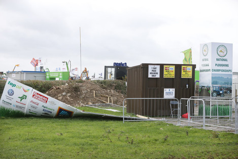 Ploughing Championships cancelled storm damage