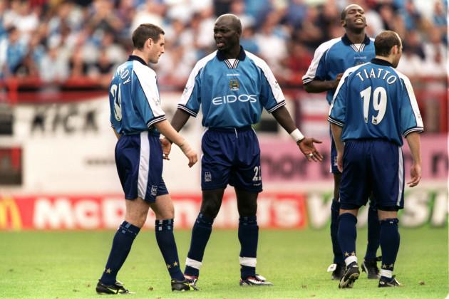Soccer - FA Carling Premiership - Charlton Athletic v Manchester City