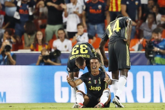 Spain: Valencia vs Juventus