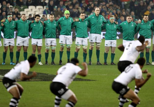 Ireland receive the Cibi