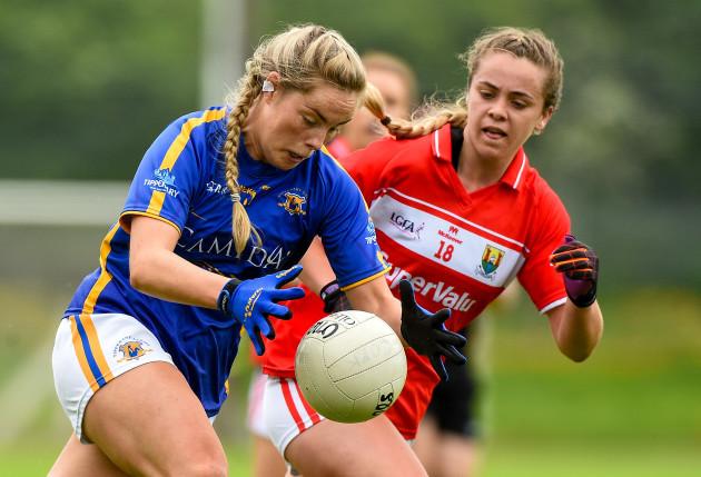 Tipperary v Cork - TG4 Munster Senior Ladies Football Championship semi-final