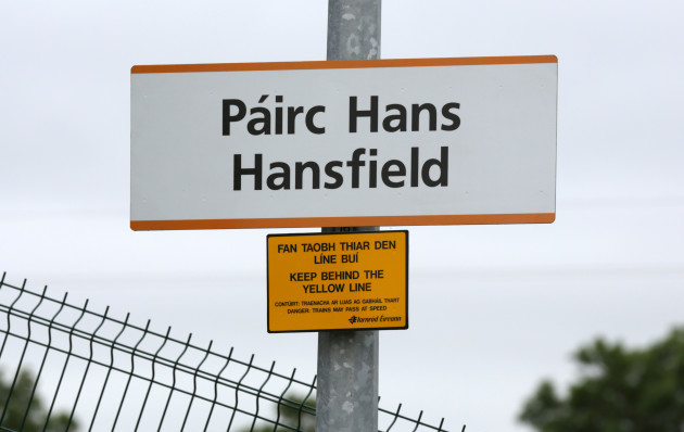 Opening of Hansfield Rail Stations