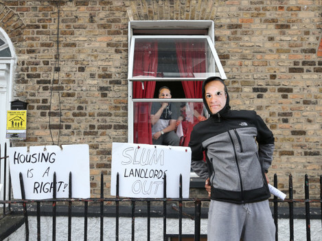 0049 Activists Occupy Property_90550926