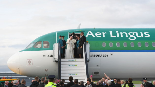 Pope Francis visit to Ireland - Day 2