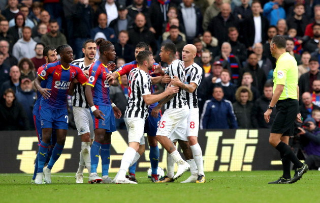 Crystal Palace v Newcastle United - Premier League - Selhurst Park