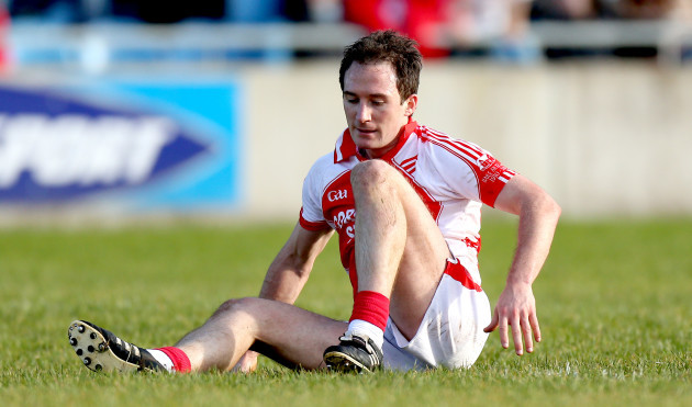 Alan Dillon dejected