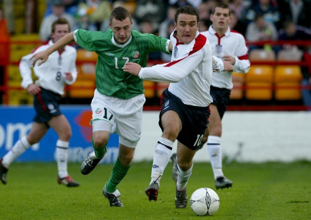 Mark Quigley with Lee Croft