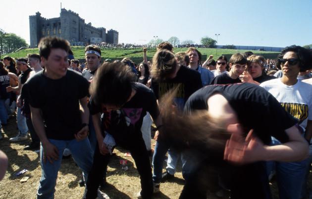 Slane Rock Concerts 1992
