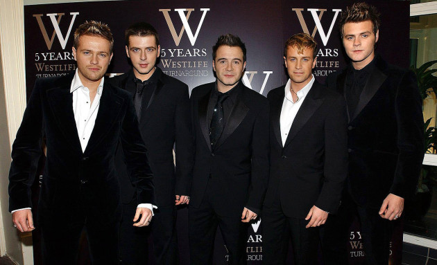 Celebrating five years of Westlife