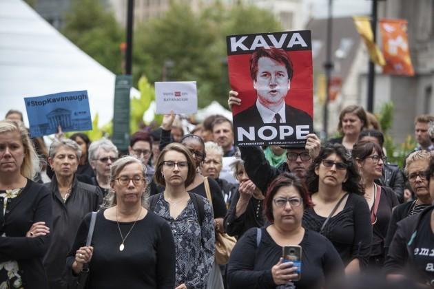 Supreme Court Kavanaugh Walkout