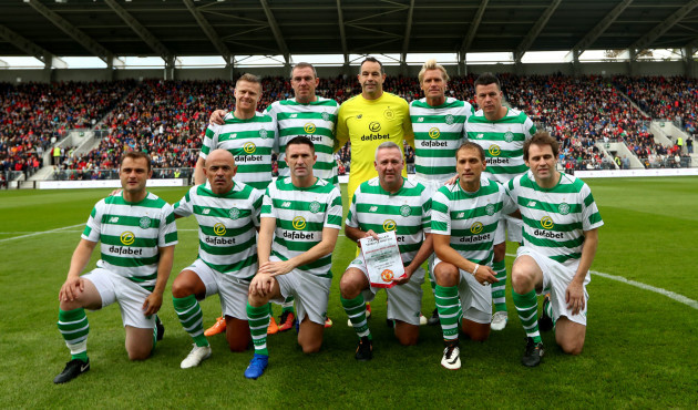 The Celtic  Ireland team