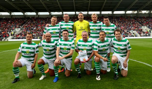 The Celtic  Ireland team