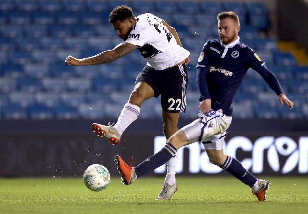 Millwall v Fulham - Carabao Cup - Third Round - The New Den