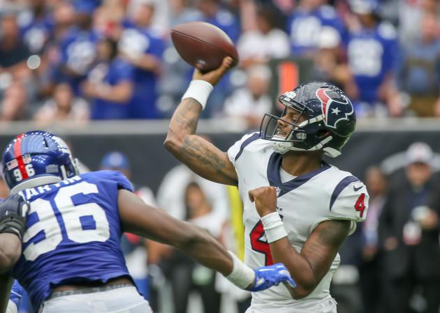 NFL: SEP 23 Giants at Texans