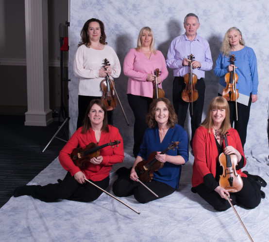 RTÉ NSO players from Second Violins Section