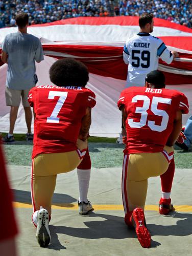 NFL's Colin Kaepernick National Anthem Protests