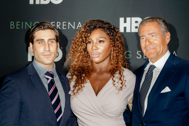 NY: Arrivals for NY Premiere of BEING SERENA at Time Warner Center