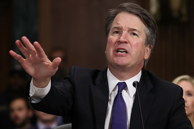 DC: Supreme Court Nominee Brett Kavanaugh Testifies To Senate Judiciary Committee