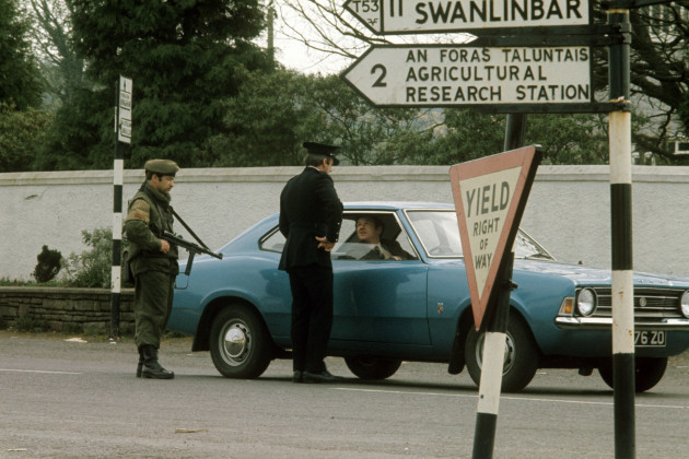 Border Police Operations - Swanlinbar, Ireland