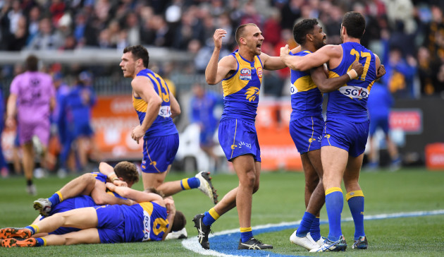 AFL GRAND FINAL 2018