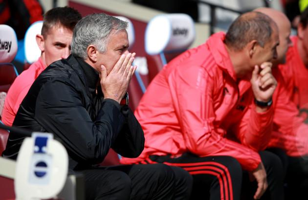 West Ham United v Manchester United - Premier League - London Stadium