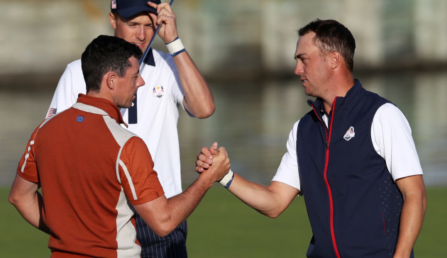 McIlroy Opens With Thomas Tiger Woods Gets Rahm As Ryder Cup Sunday