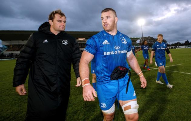Rhys Ruddock and Seán O'Brien