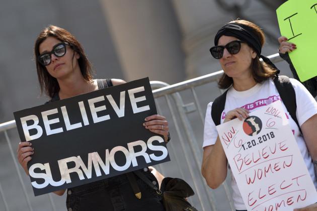 CA: Brett Kavanaugh Protest in Los Angeles