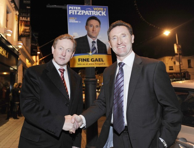 File Photo Fine Gael TD Peter Fitzpatrick has resigned from the party and intends to run in the next election as an independent candidate. End.