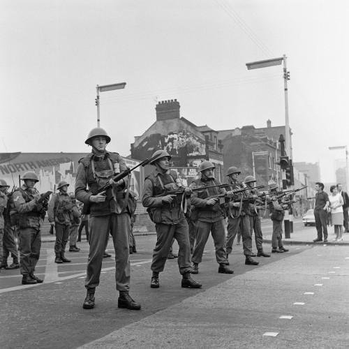 Northern Ireland - The Troubles - British Soldiers - Belfast - 1969