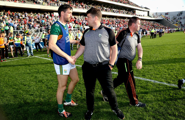Eamonn Fitzmaurice with Anthony Maher