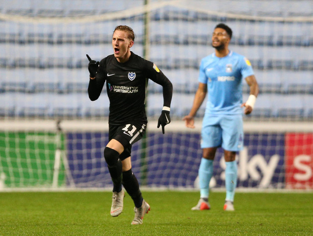 Coventry City v Portsmouth - Sky Bet League One - Ricoh Arena