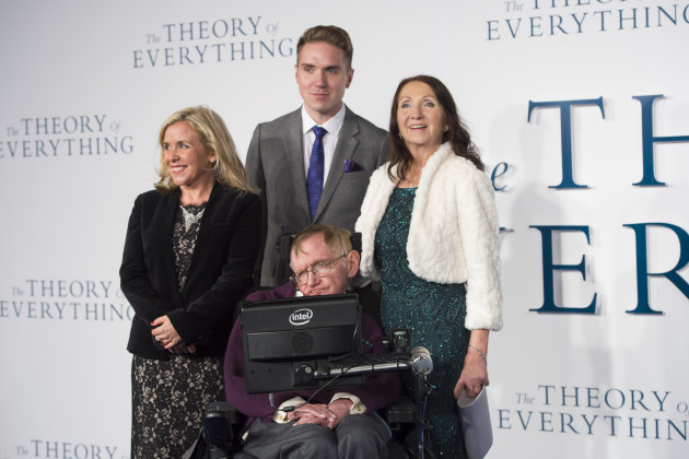 The Theory of Everything premiere - London