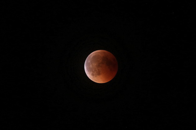 Italy: Total Lunar Eclipse Over Italy